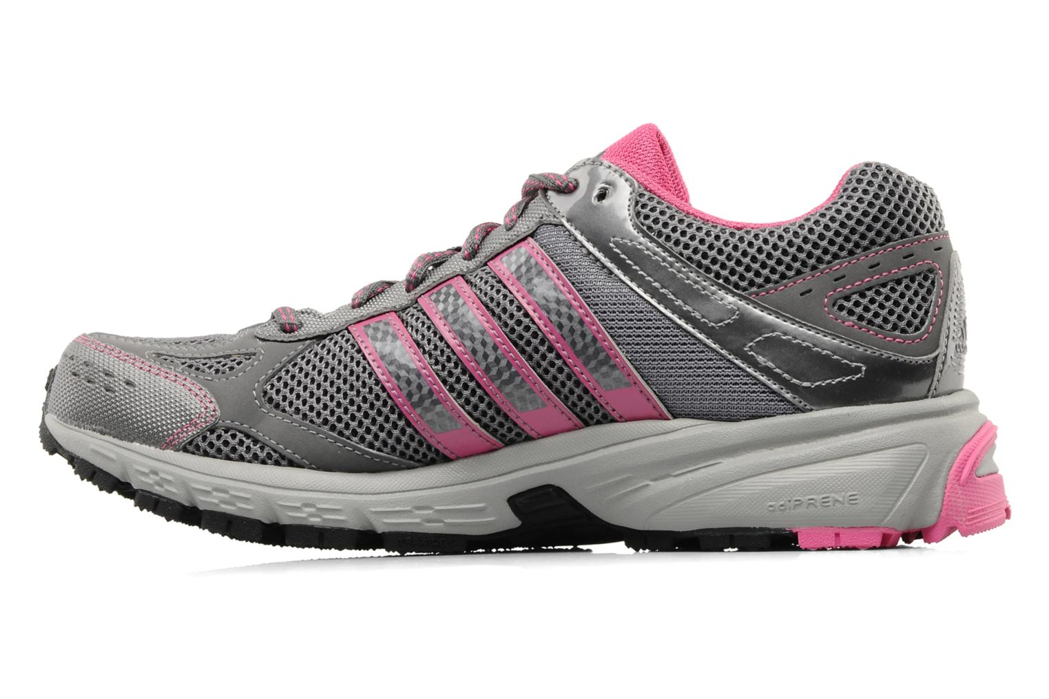 Sport shoes Adidas Performance Duramo 4 TR W Grey front view