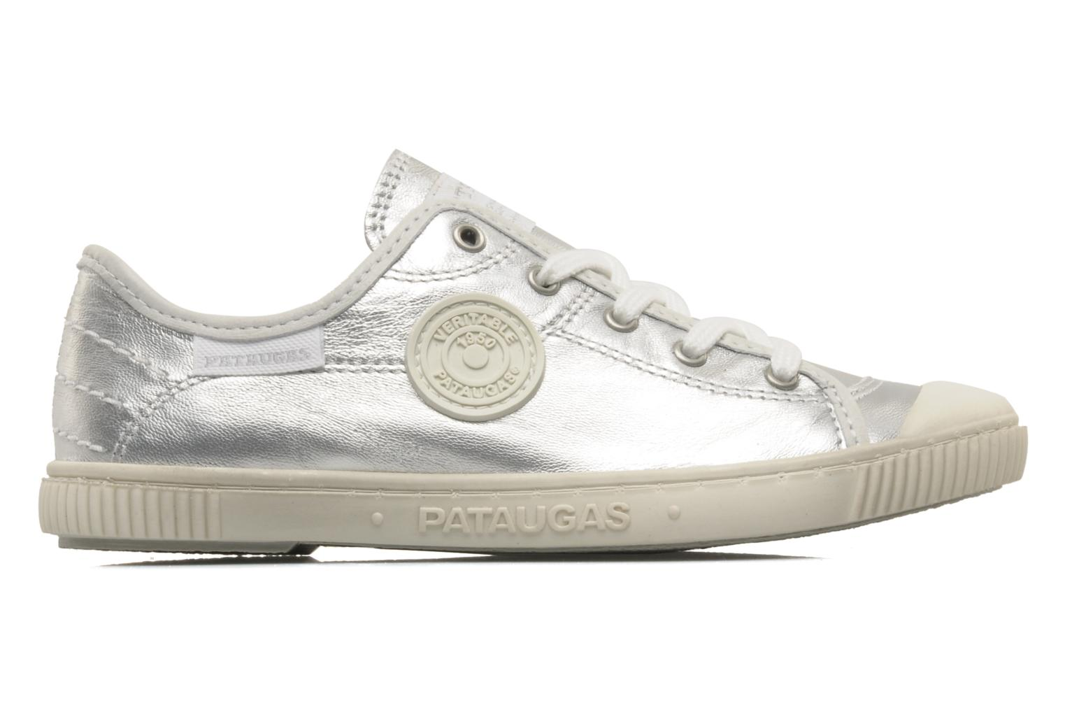 Trainers Pataugas Boutchou/m e Silver back view