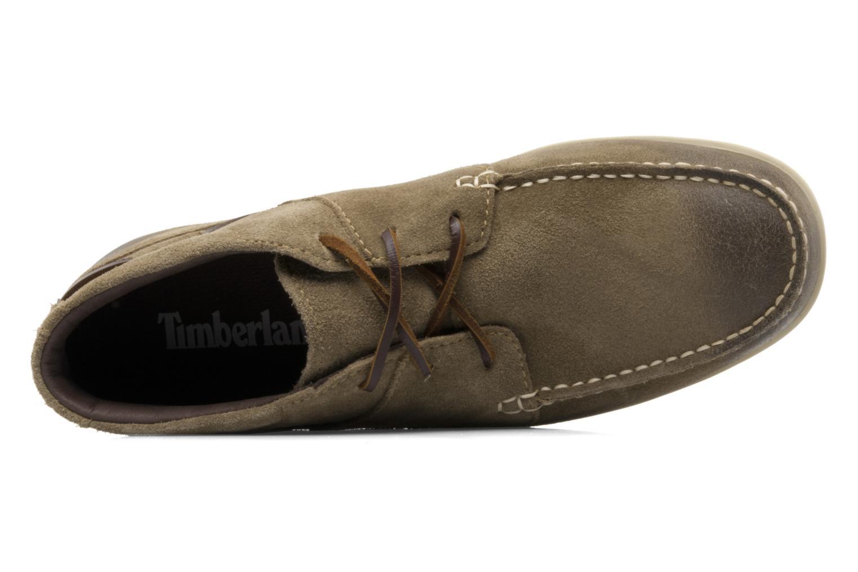 Zapatos con cordones Timberland CL 16 Chukka Beige vista lateral izquierda