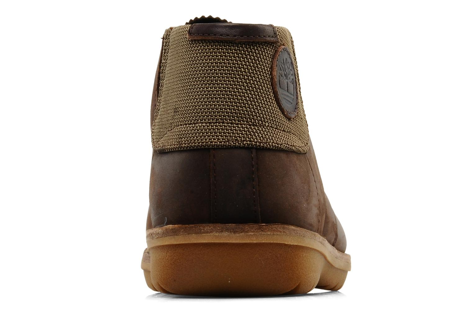 Chaussures à lacets Timberland Earthkeepers Front Country Travel Plain Toe Chukka Marron vue droite