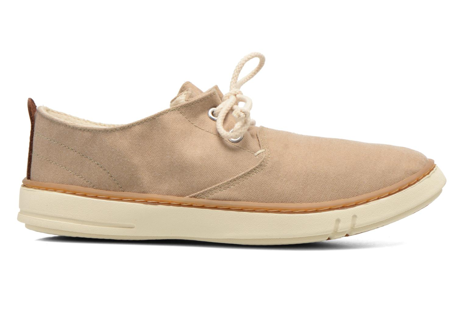 Baskets Timberland Earthkeepers Hookset Handcrafted Fabric Oxford Beige vue derrière