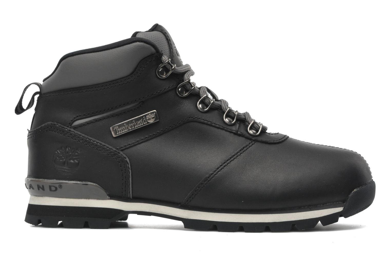 Lace-up shoes Timberland Splitrock 2 Black back view