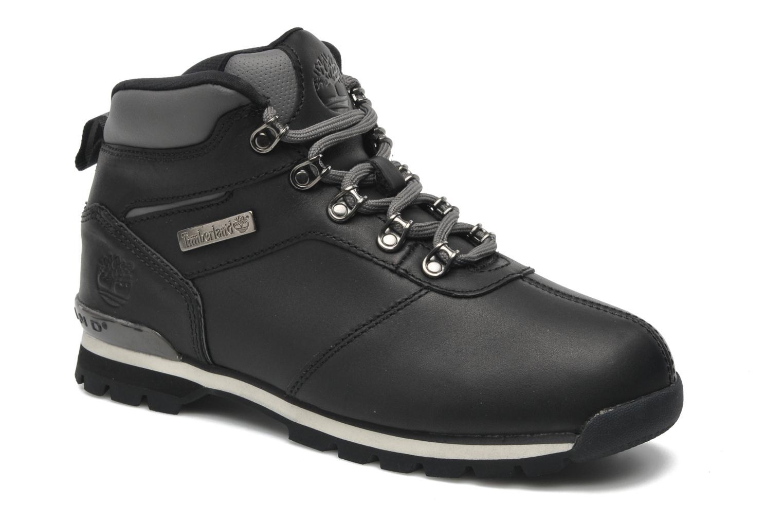 Schnürschuhe Timberland Splitrock 2 schwarz detaillierte ansicht/modell