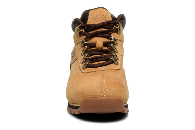 Snörade skor Timberland Splitrock 2 Beige bild av skorna på