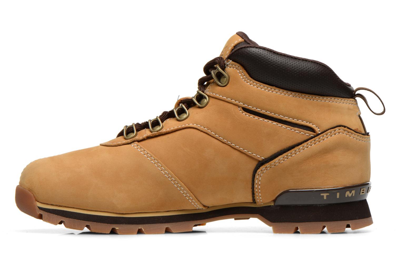 Chaussures à lacets Timberland Splitrock 2 Beige vue face