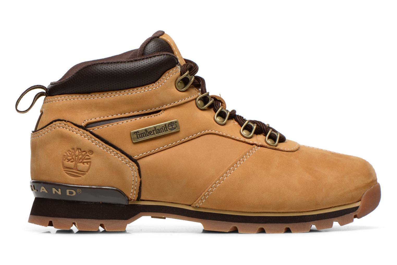 Snörade skor Timberland Splitrock 2 Beige bild från baksidan