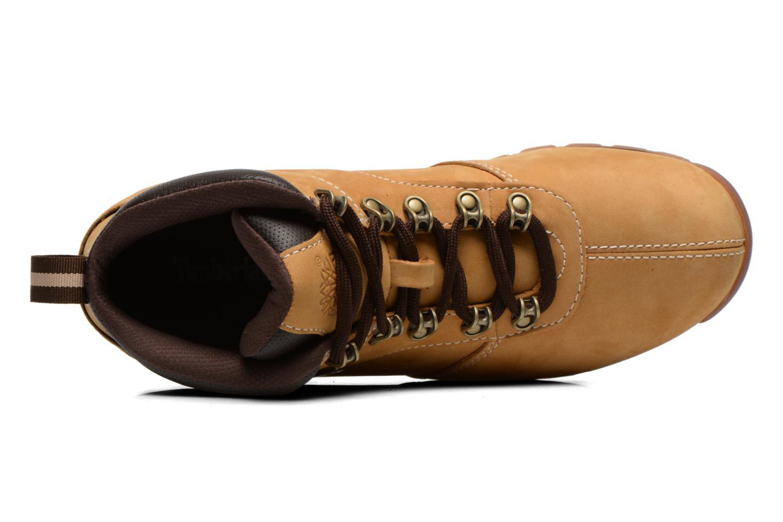 Snörade skor Timberland Splitrock 2 Beige bild från vänster sidan