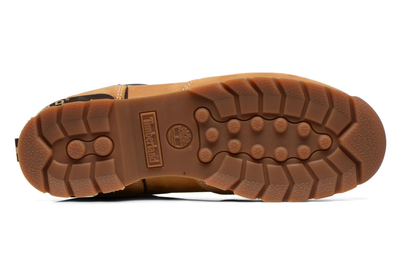 Chaussures à lacets Timberland Splitrock 2 Beige vue haut