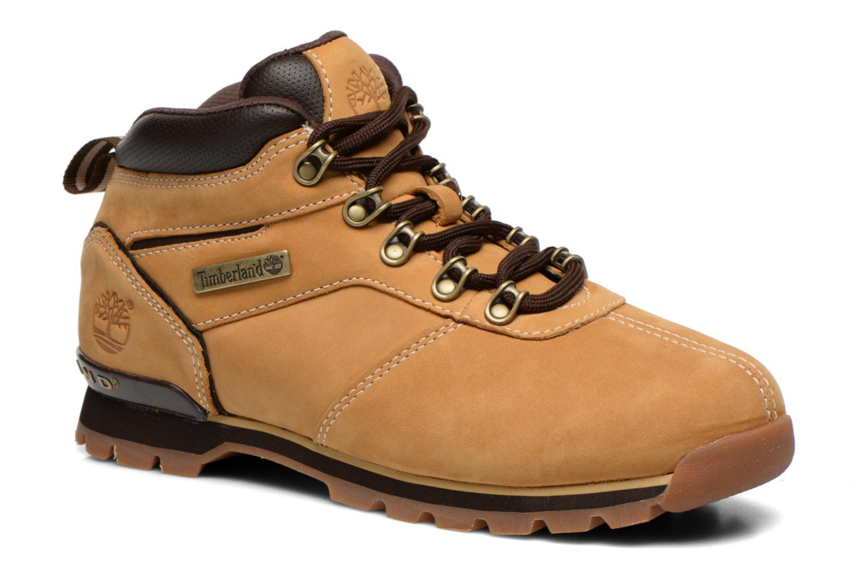 Snörade skor Timberland Splitrock 2 Beige detaljerad bild på paret