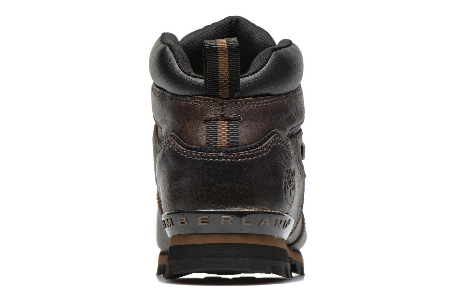 Lace-up shoes Timberland Splitrock 2 Brown view from the right