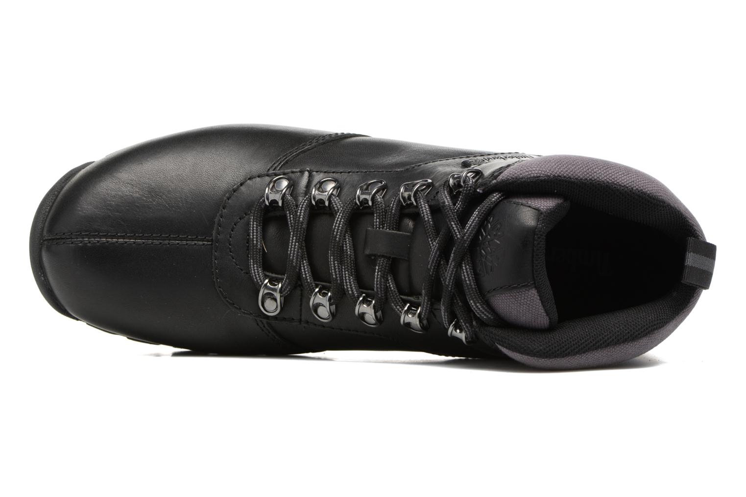 Lace-up shoes Timberland Splitrock 2 Black view from the left