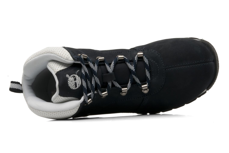 Boots en enkellaarsjes Timberland Splitrock 2 Kid Blauw links