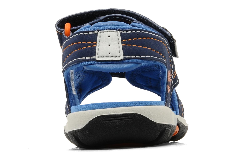 Sportschuhe Timberland Mad River 2-Strap Sandal blau ansicht von rechts