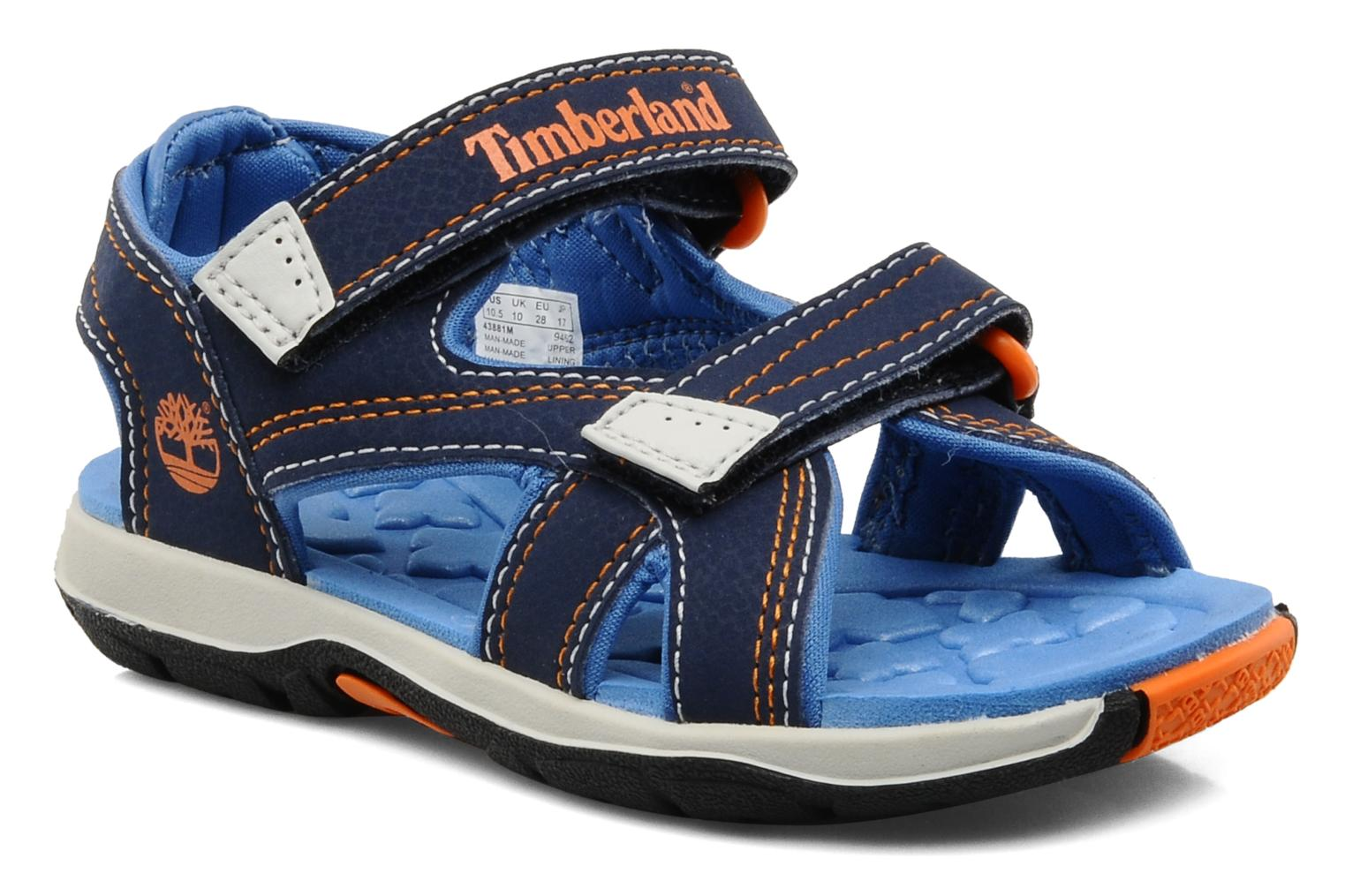 Mad River 2-Strap Sandal Navy with Royal & Orange