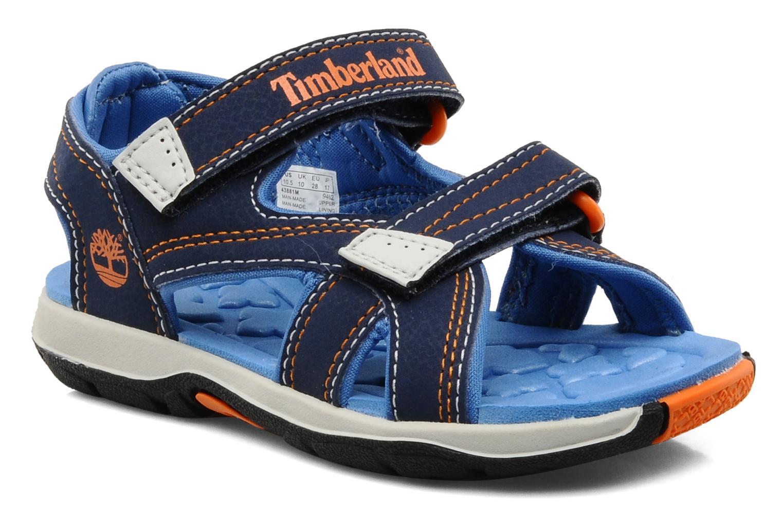 Sportschuhe Timberland Mad River 2-Strap Sandal blau detaillierte ansicht/modell