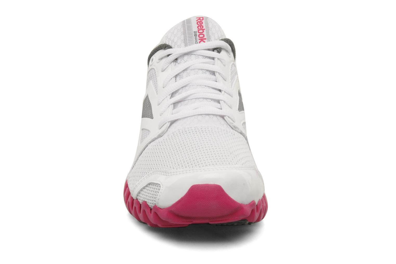 Chaussures de sport Reebok Premier Zigfly 2 W Blanc vue portées chaussures