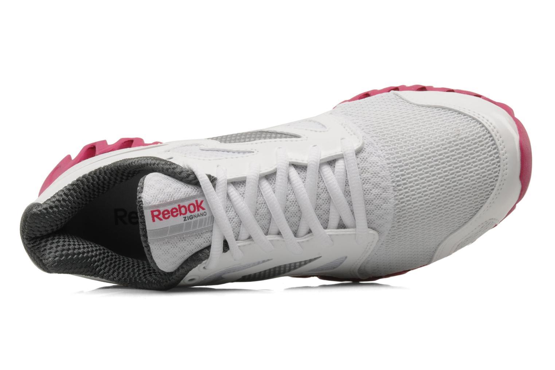 Chaussures de sport Reebok Premier Zigfly 2 W Blanc vue gauche