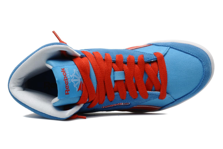 Sneakers Reebok Fabulista Mid Blauw links