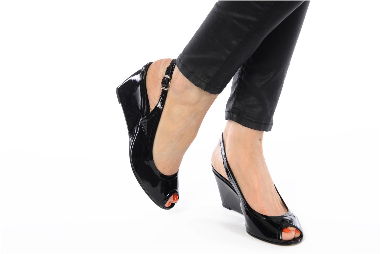 Sandales et nu-pieds Elizabeth Stuart Bambi 348 Noir vue bas / vue portée sac