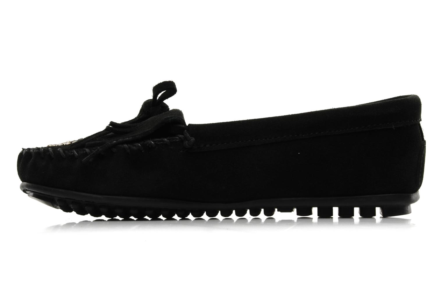 Loafers Minnetonka PEACE Black front view
