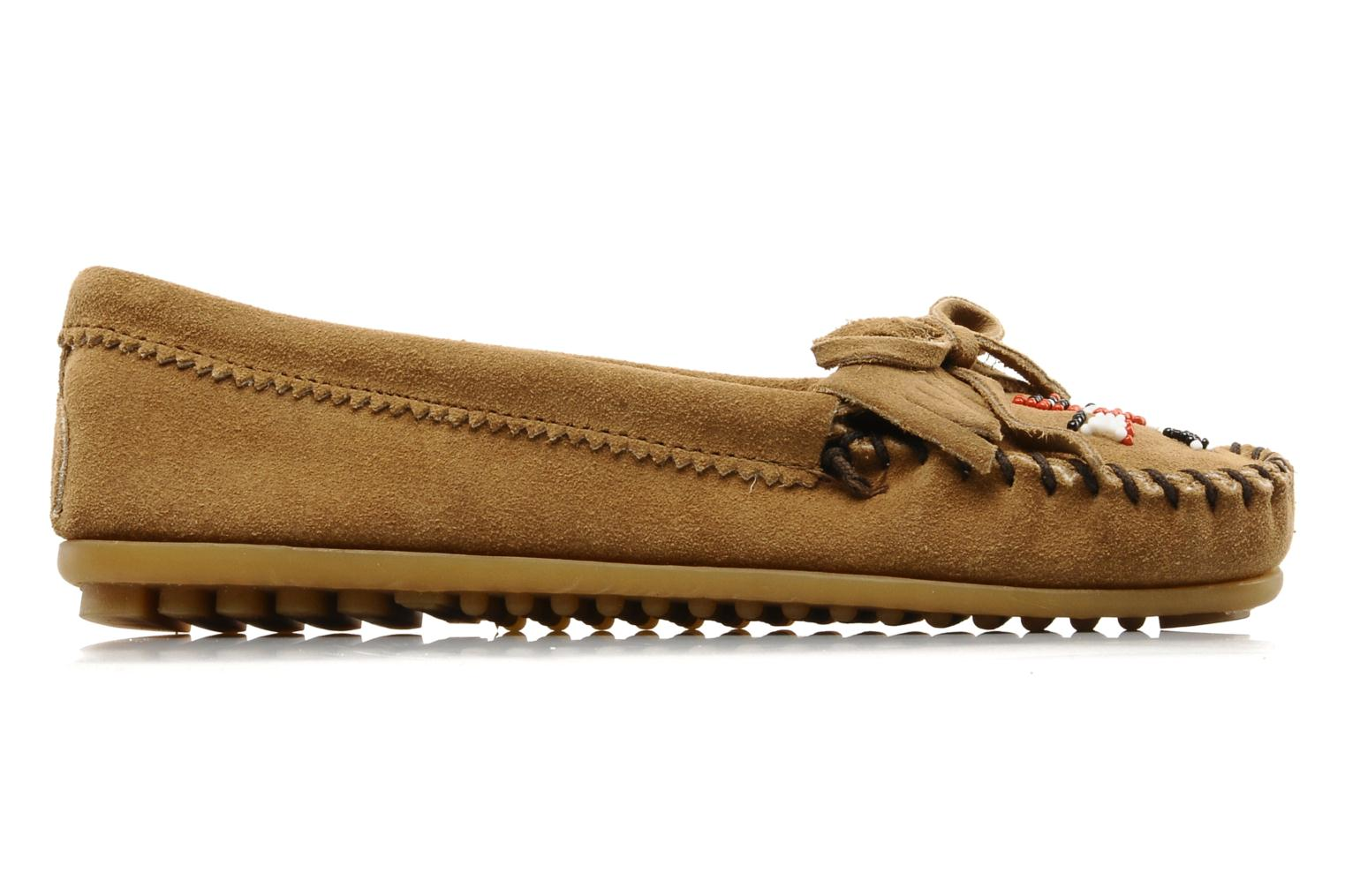 Loafers Minnetonka THUNDERBIRD 2 Beige back view