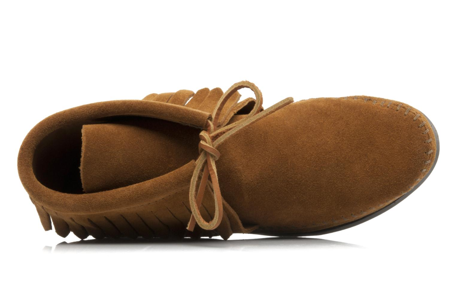 CLASSIC FRINGE Brown Suede