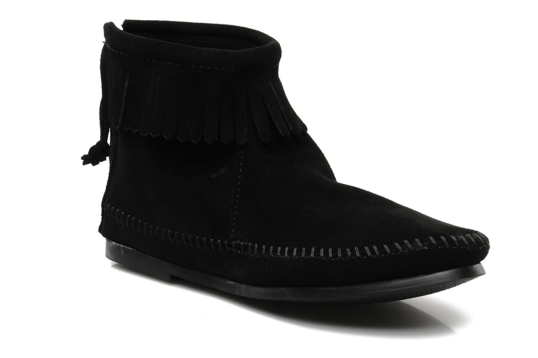 Stiefeletten & Boots Minnetonka BACK ZIPPER BT schwarz detaillierte ansicht/modell