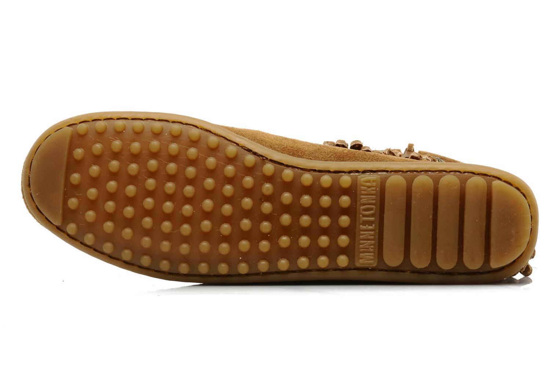 Boots en enkellaarsjes Minnetonka DOUBLE FRINGE BT Bruin boven