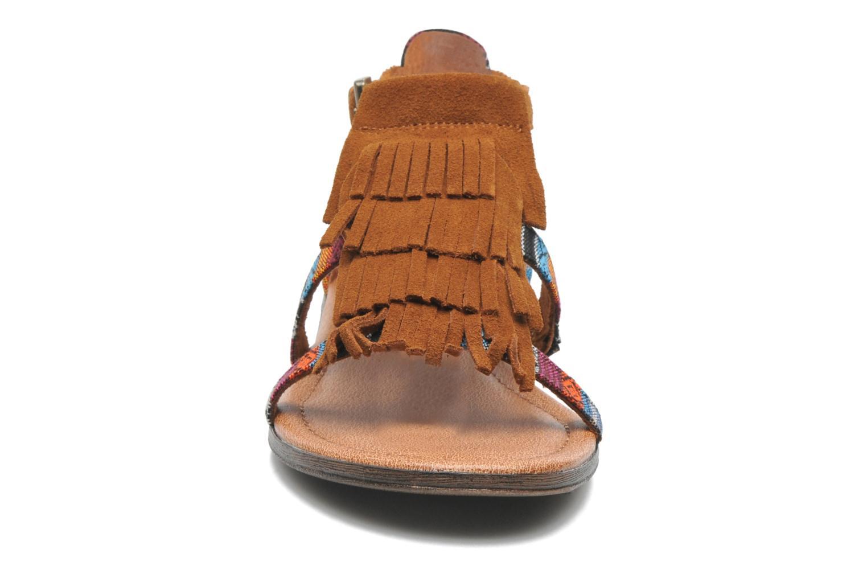 Sandalen Minnetonka Maui mehrfarbig schuhe getragen