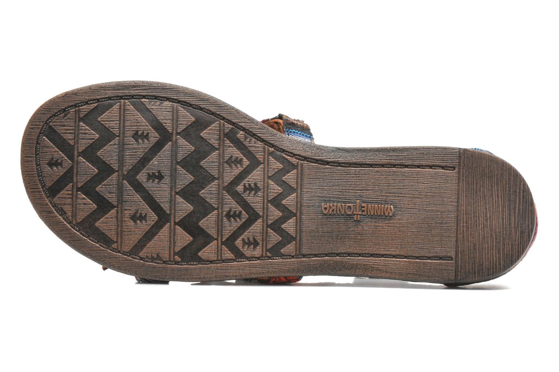 Sandales et nu-pieds Minnetonka Maui Multicolore vue haut