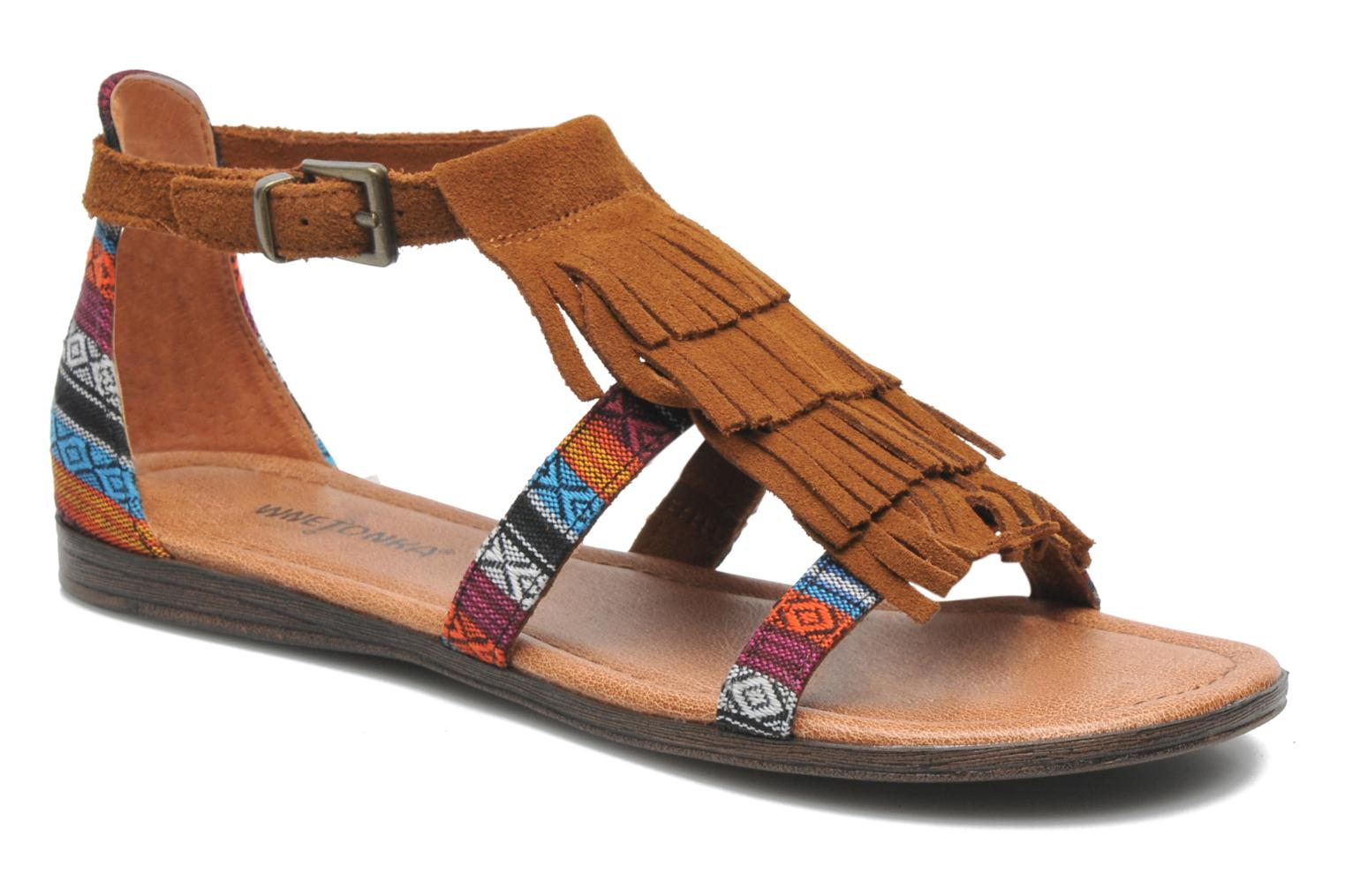 Sandals Minnetonka Maui Multicolor detailed view/ Pair view