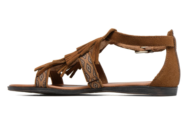 Sandalen Minnetonka Maui braun ansicht von vorne