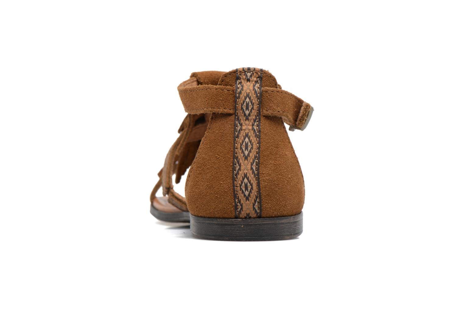 Sandals Minnetonka Maui Brown view from the right