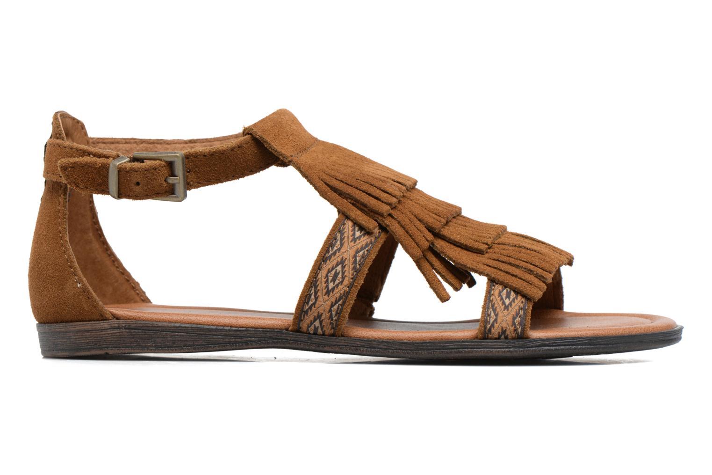 Sandalen Minnetonka Maui braun ansicht von hinten
