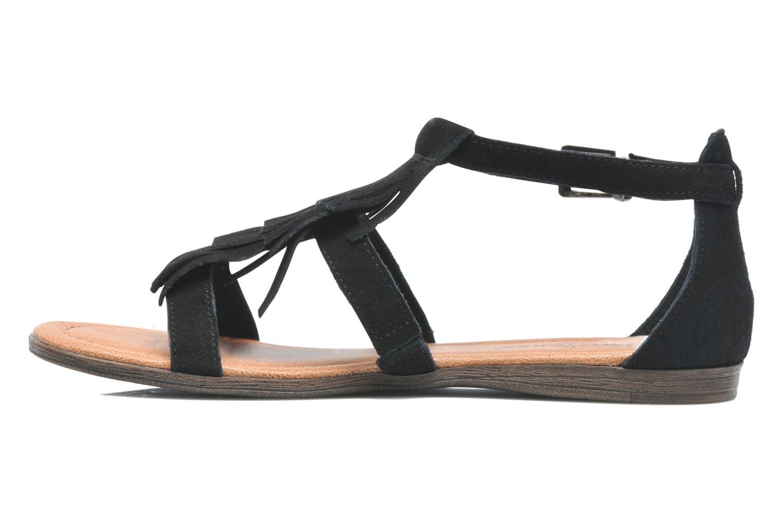 Sandals Minnetonka Maui Black front view