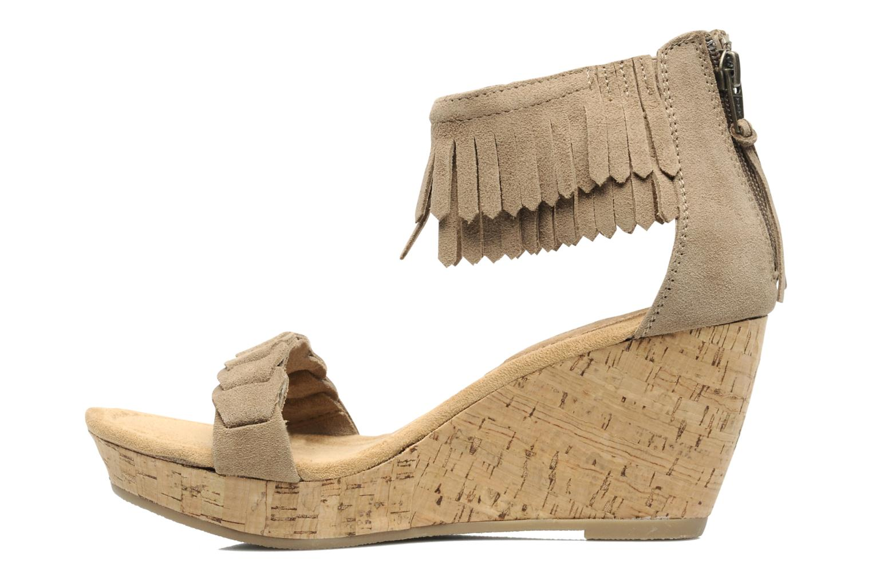Sandals Minnetonka Nicki Beige front view