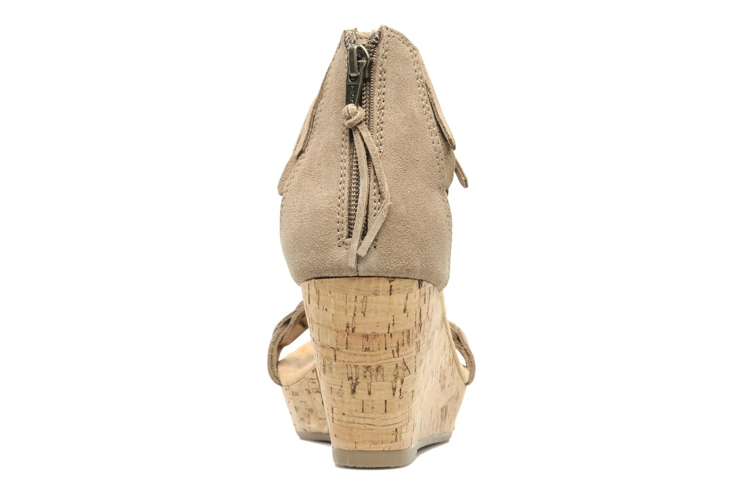 Sandals Minnetonka Nicki Beige view from the right