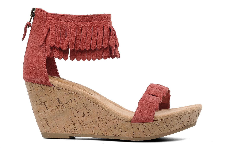 Sandales et nu-pieds Minnetonka Nicki Rouge vue derrière