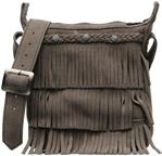 CROSS BODY FRINGE BAG