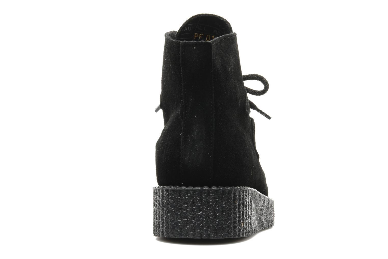 Boots en enkellaarsjes Underground Wulfrun High M Zwart rechts