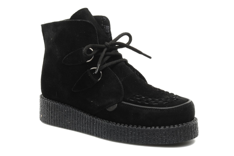 Boots en enkellaarsjes Underground Wulfrun High M Zwart detail