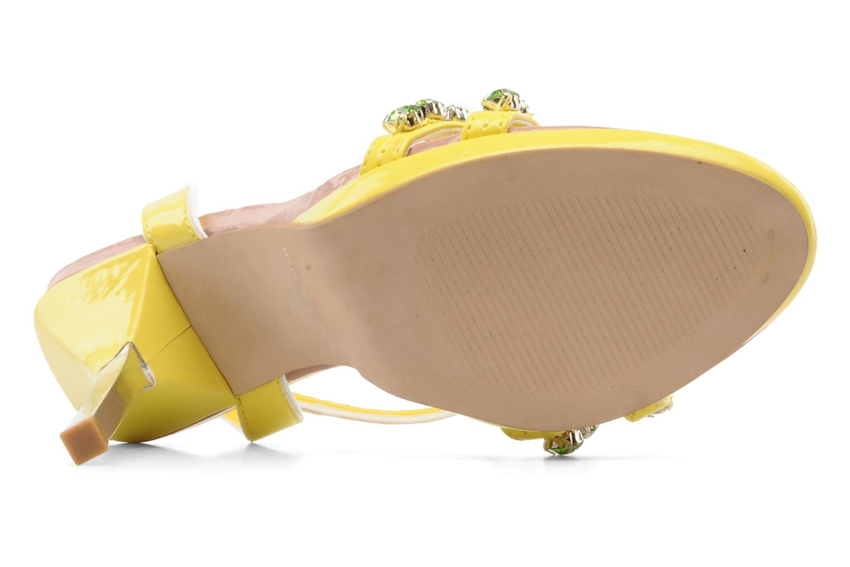 Sandales et nu-pieds Carvela Ginny Jaune vue haut