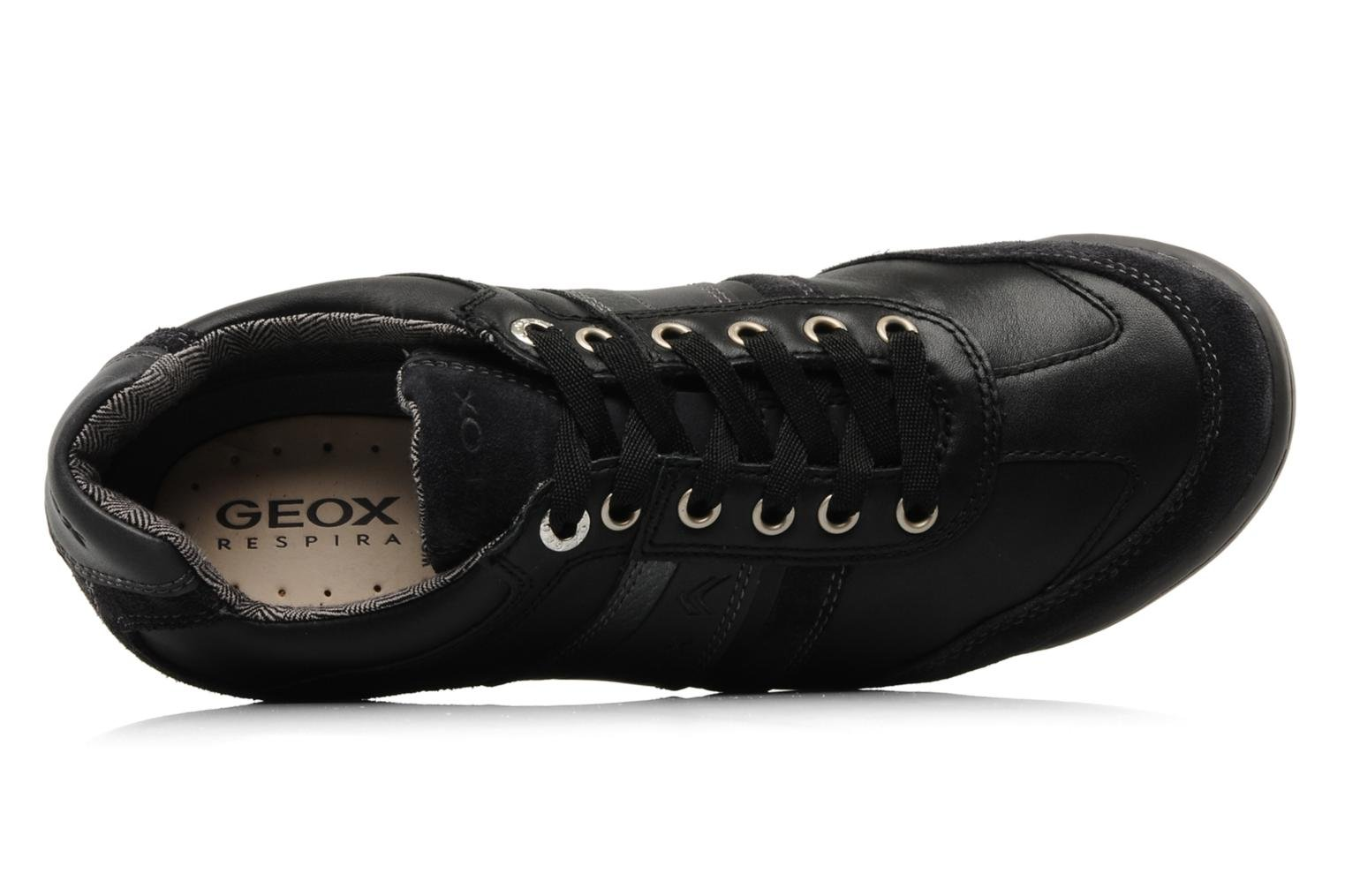 Trainers Geox U Io f Black view from the left