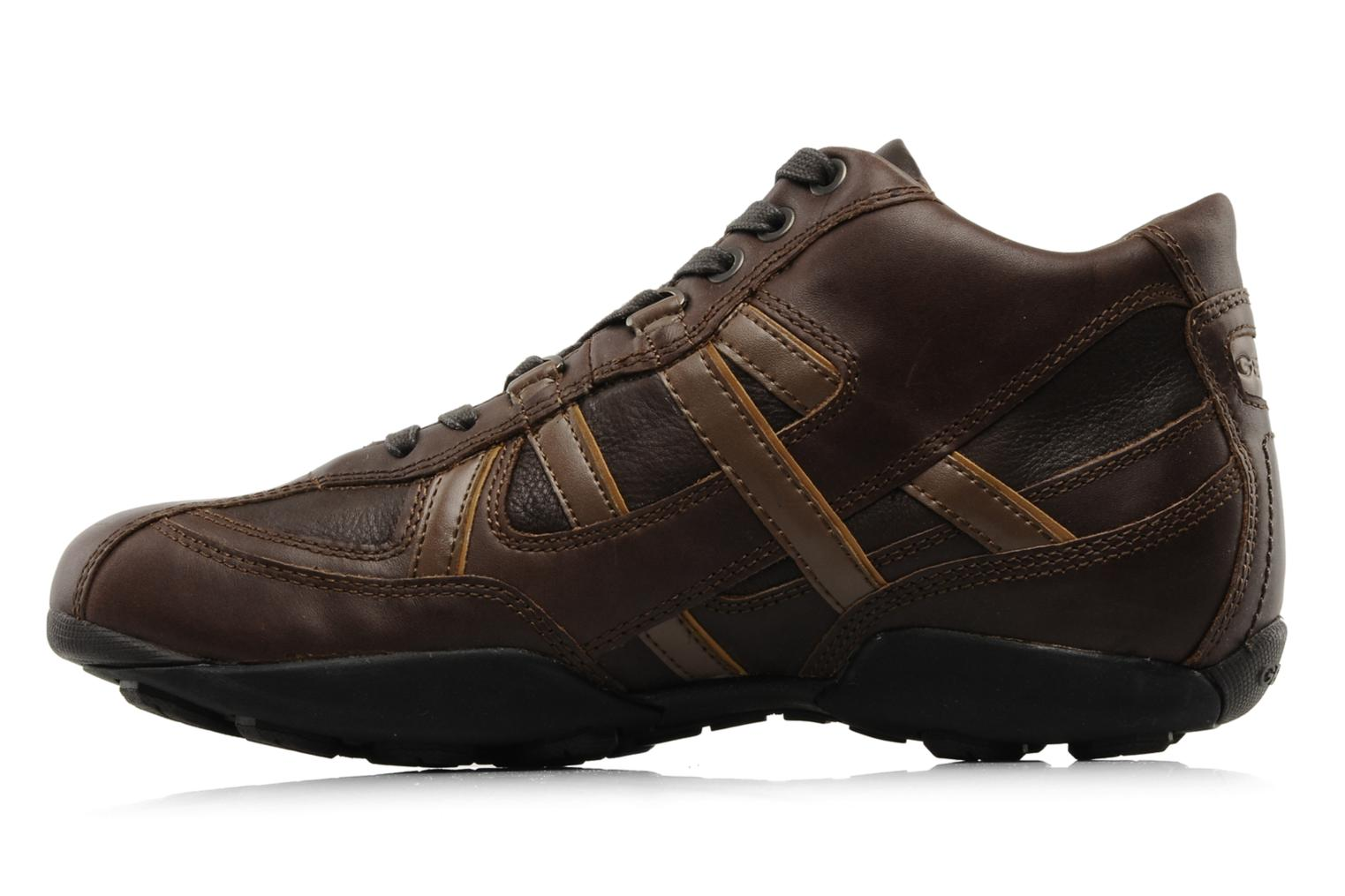 Trainers Geox U New Early Brown front view