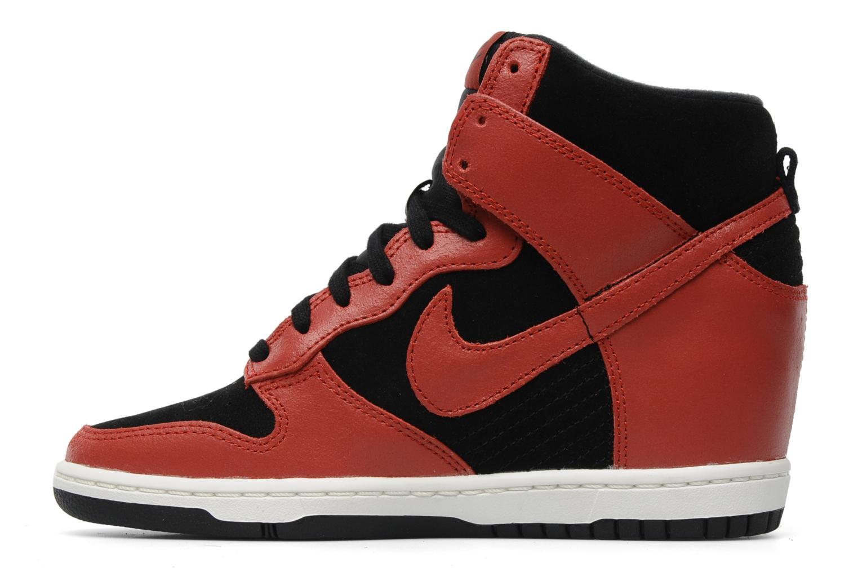 Deportivas Nike Dunk sky high Rojo vista de frente