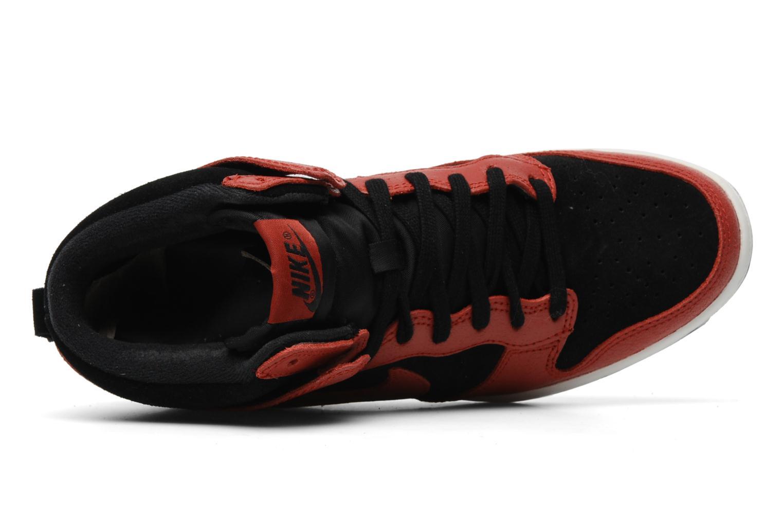 Deportivas Nike Dunk sky high Rojo vista lateral izquierda