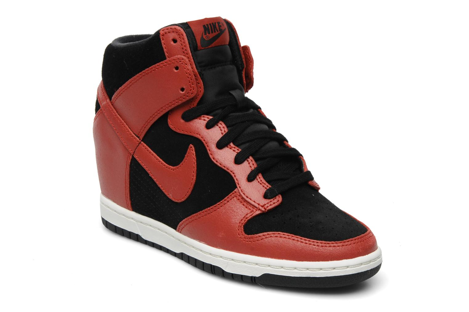 Dunk sky high Black-Gym Red-Sail