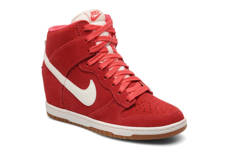 sneakers nike rosse