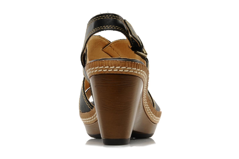 Sandales et nu-pieds Pikolinos Gomera 8247 Noir vue droite