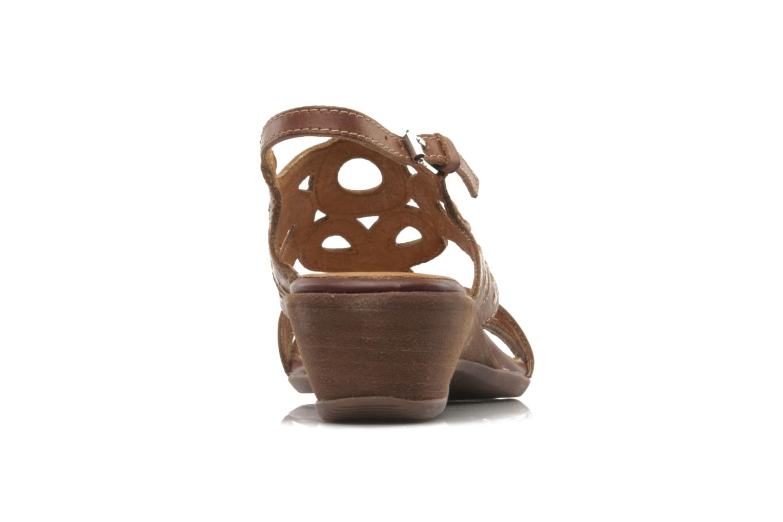 Sandales et nu-pieds Pikolinos Thailandia 7589 Marron vue droite